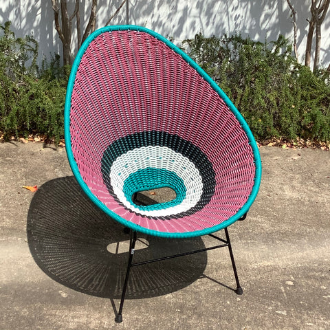 Colorful Acapulco Avocado Chair - Purple