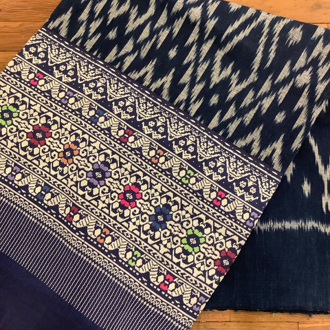 Guatemalan Corte Textile with Weaving