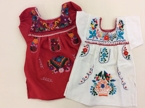 Girls Puebla Dress (Size 0)