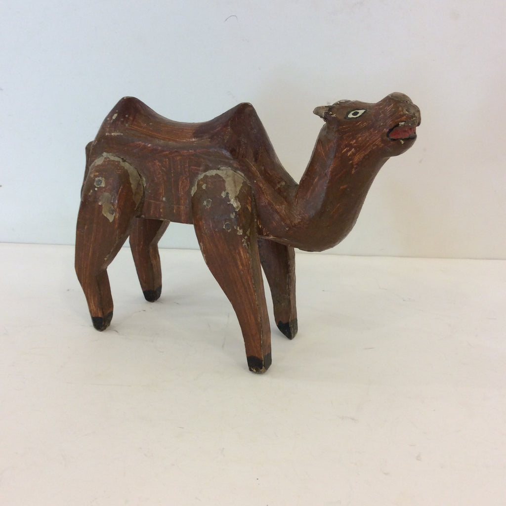 Wood Animal from Guatemala - Camel