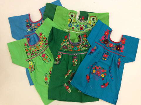 Girls Puebla Dress (Size 2T)