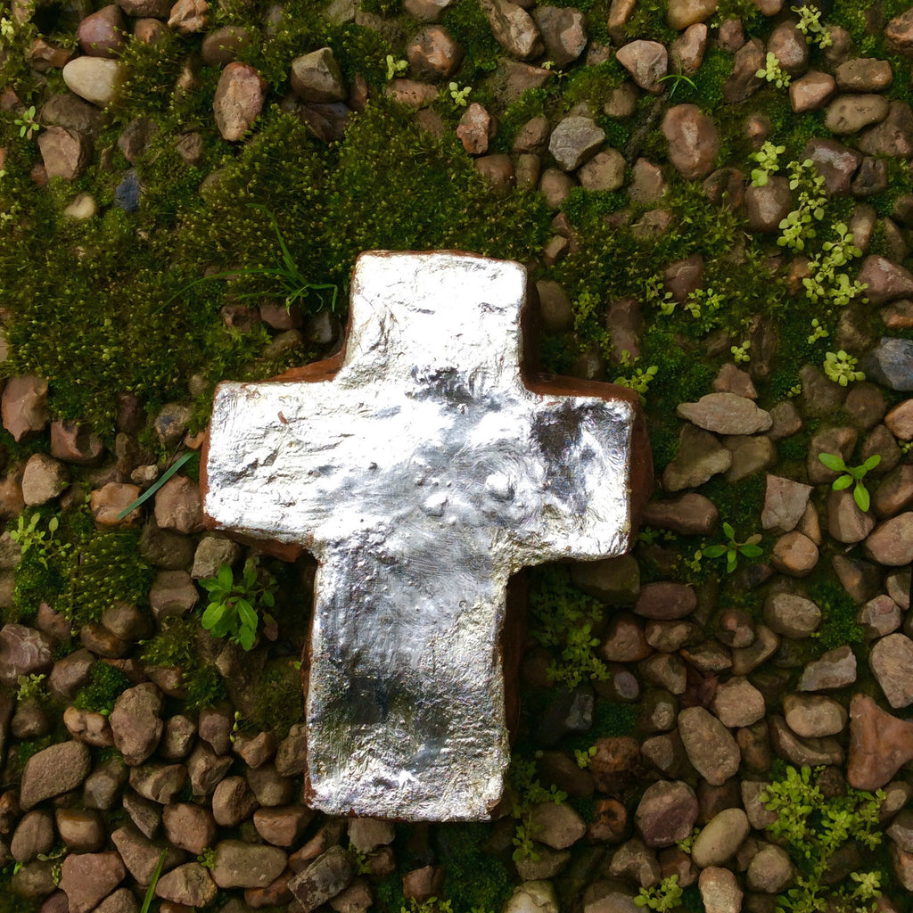 Extra Large Silver Cross