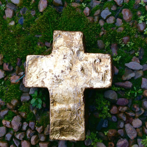 Extra Large Gold Cross
