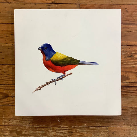 Renato Rivera Bird Painting - 5