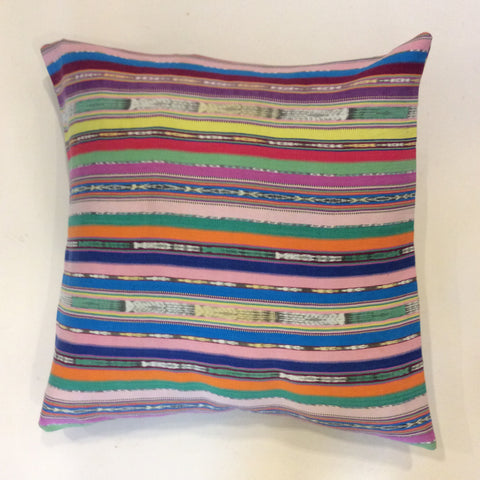 "Vintage Corte Pillow from Guatemala - 20"" x 20"""