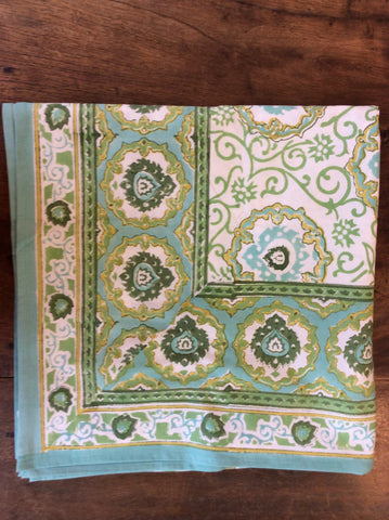 Jewel Green Tablecloth