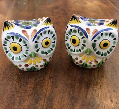 Gorky Salt and Pepper Shaker Set - Mod Owl