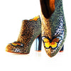 """Cheetah Butterfly Style"" Ankle Boots"