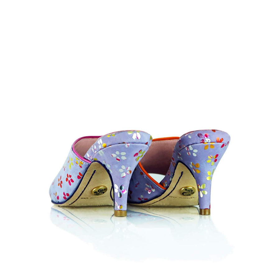 """Flower Power"" Lila Sandal"