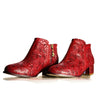 """Scarlet Daisy"" CCC Ankle Bootie"