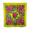 Floral Bandana Yellow