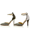 Sara Melissa Designs Shoes classic black and white ankle strap pointy toe