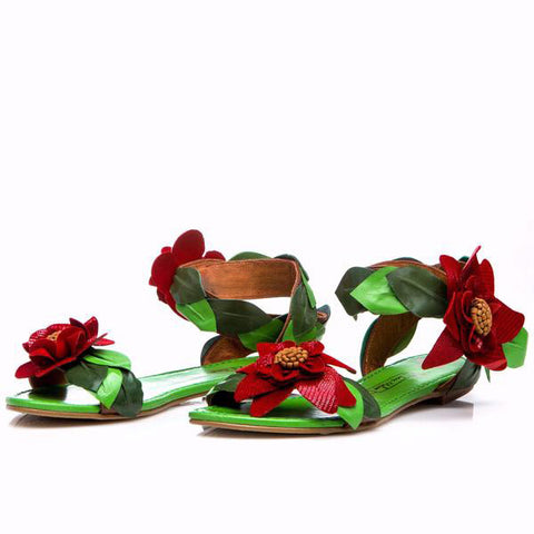 Sara Melissa Designs Shoes Transformer Leather Sandals