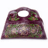 Sara Melissa Designs Hand Tooled  Handbag burgundy