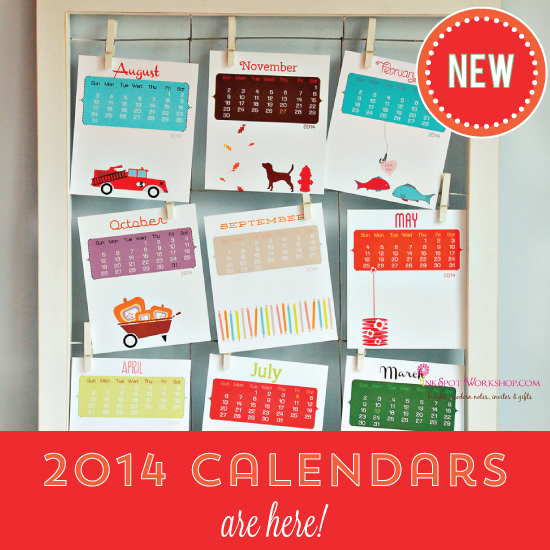 2014 Calendars are HERE