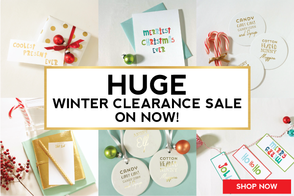Winter Clearance Save 50% NOW
