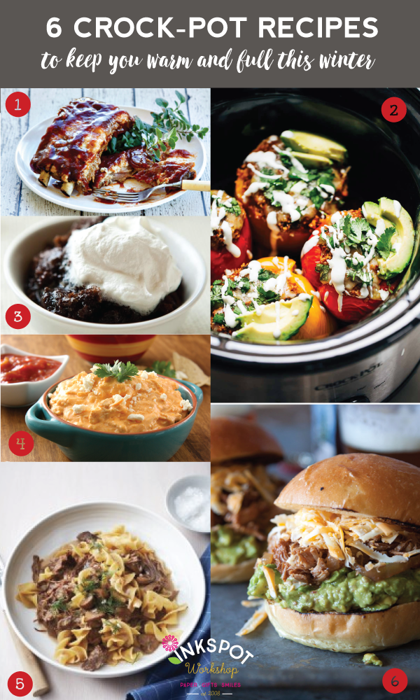 Baby It's Cold Outside - 6 Crock-Pot Recipes To Keep You Warm