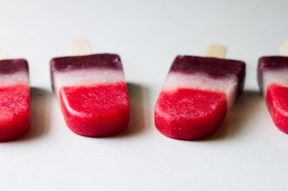 Rocket Pops - A Healthier Version