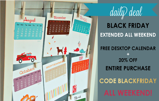 Daily Deal - BLACK FRIDAY DEAL Extended ALL Weekend