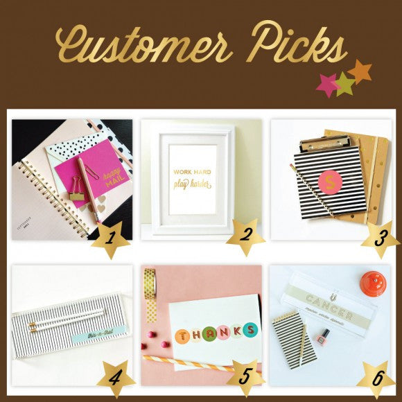 Sparkling Customer Picks