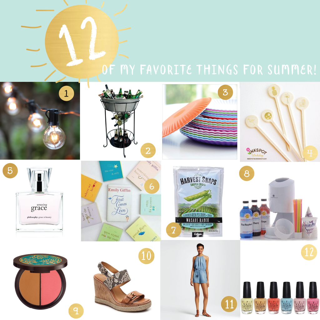 12 Of My Favorte Summer Things