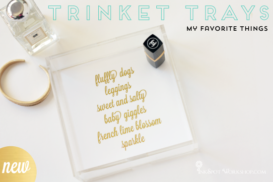 NEW Trinket Trays + A Give Away
