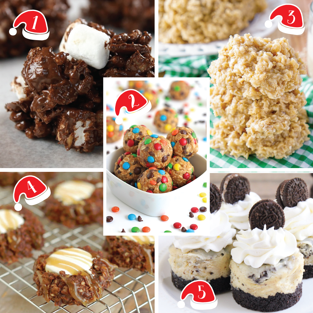 Top 5 Favorite No Bake Cookie Recipes For The Holidays