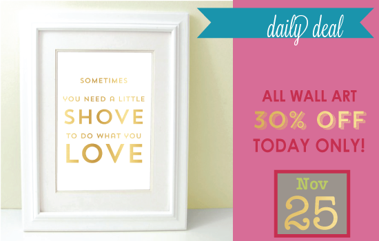 Daily Deal - Week Of Thanks Wall Art