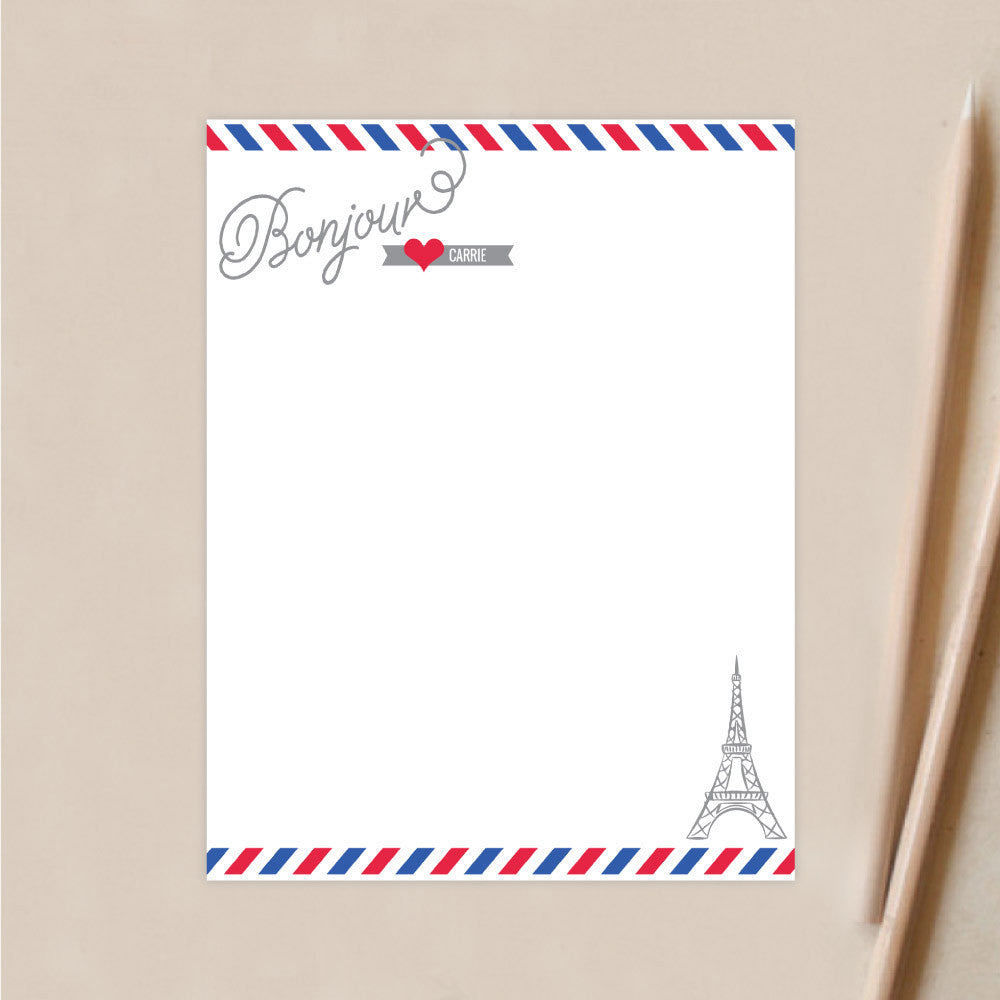 airmail french stationery