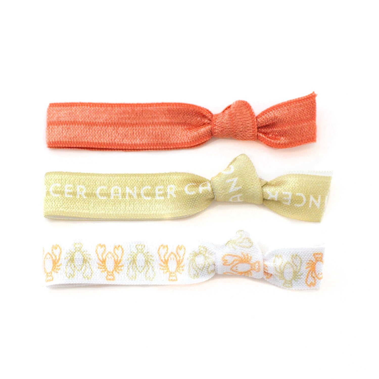 Cancer Ponytail Holders Hair Ties