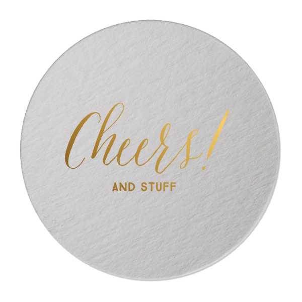 cheers and stuff coasters