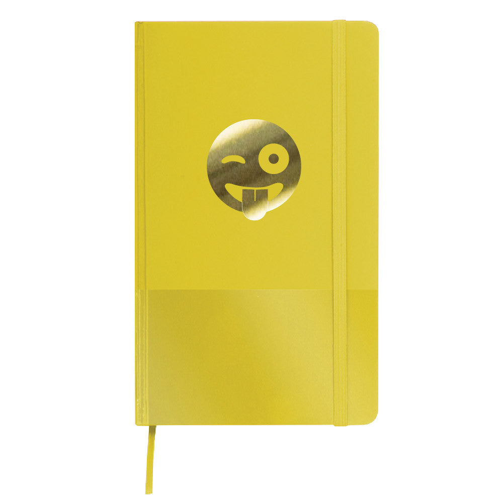 winky face emoji journal