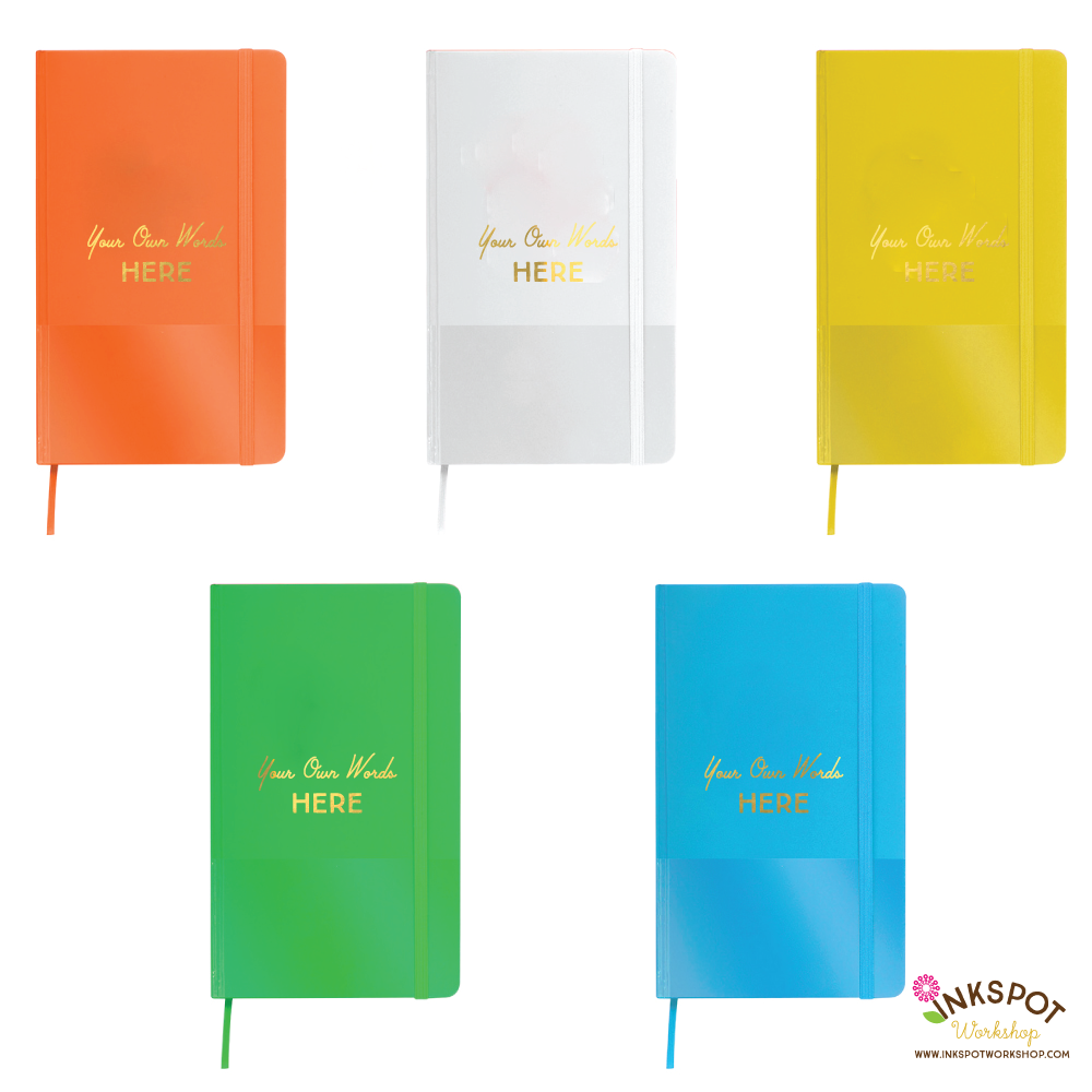 Gold Foil Custom Personalized Journals