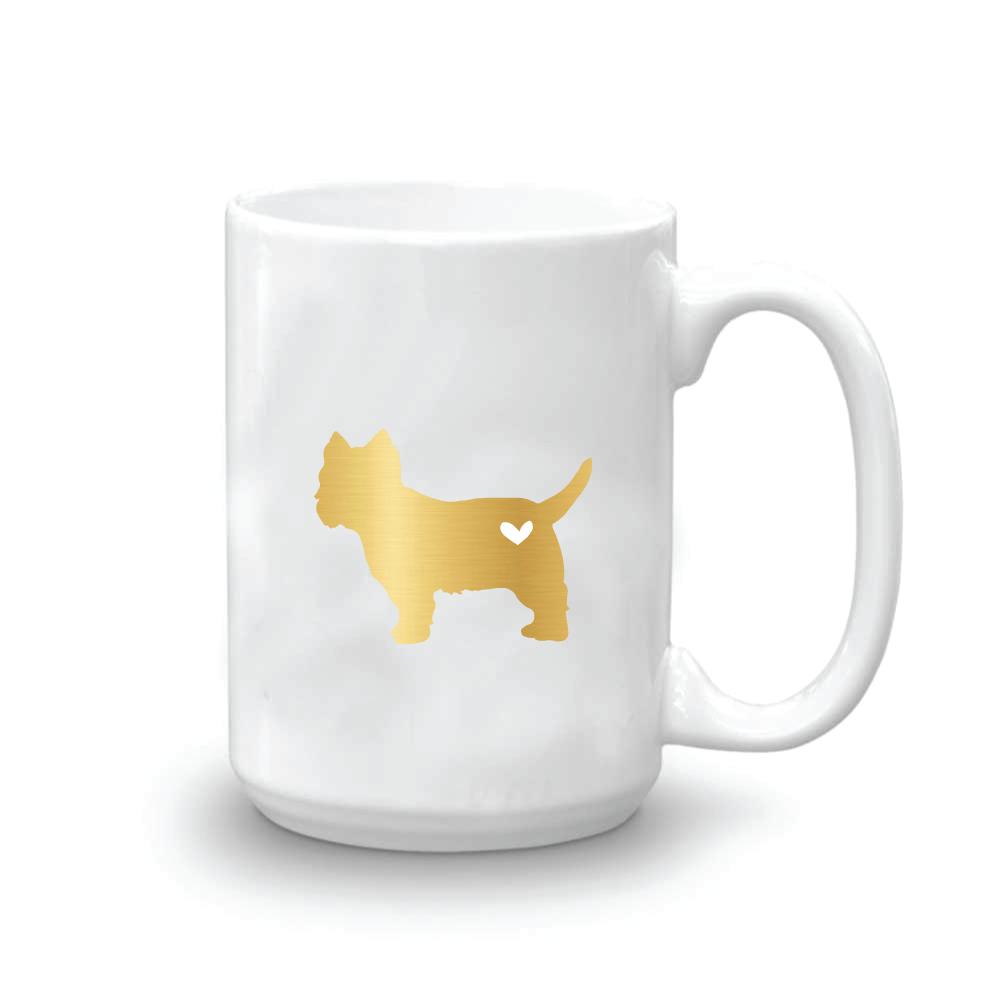 Puppy Love Foil Coffee Mug
