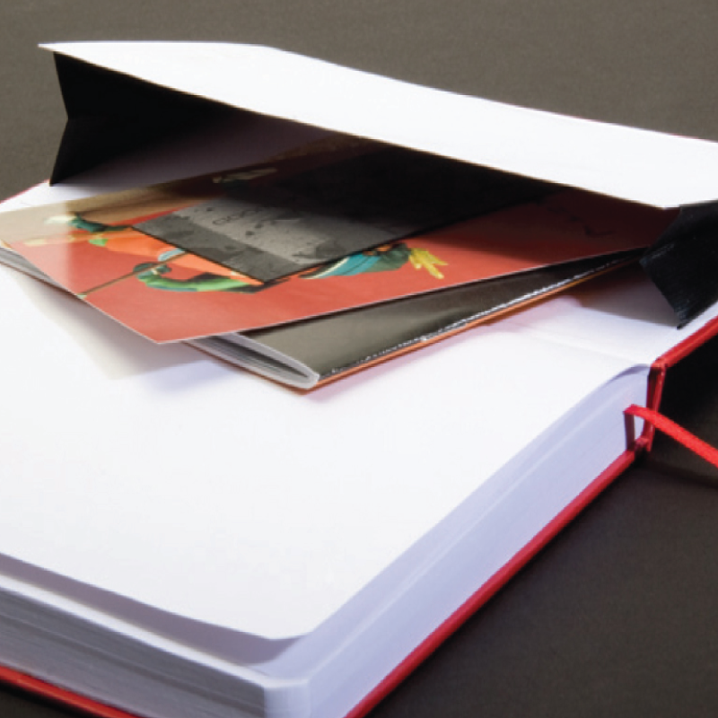 custom dog journal back pocket