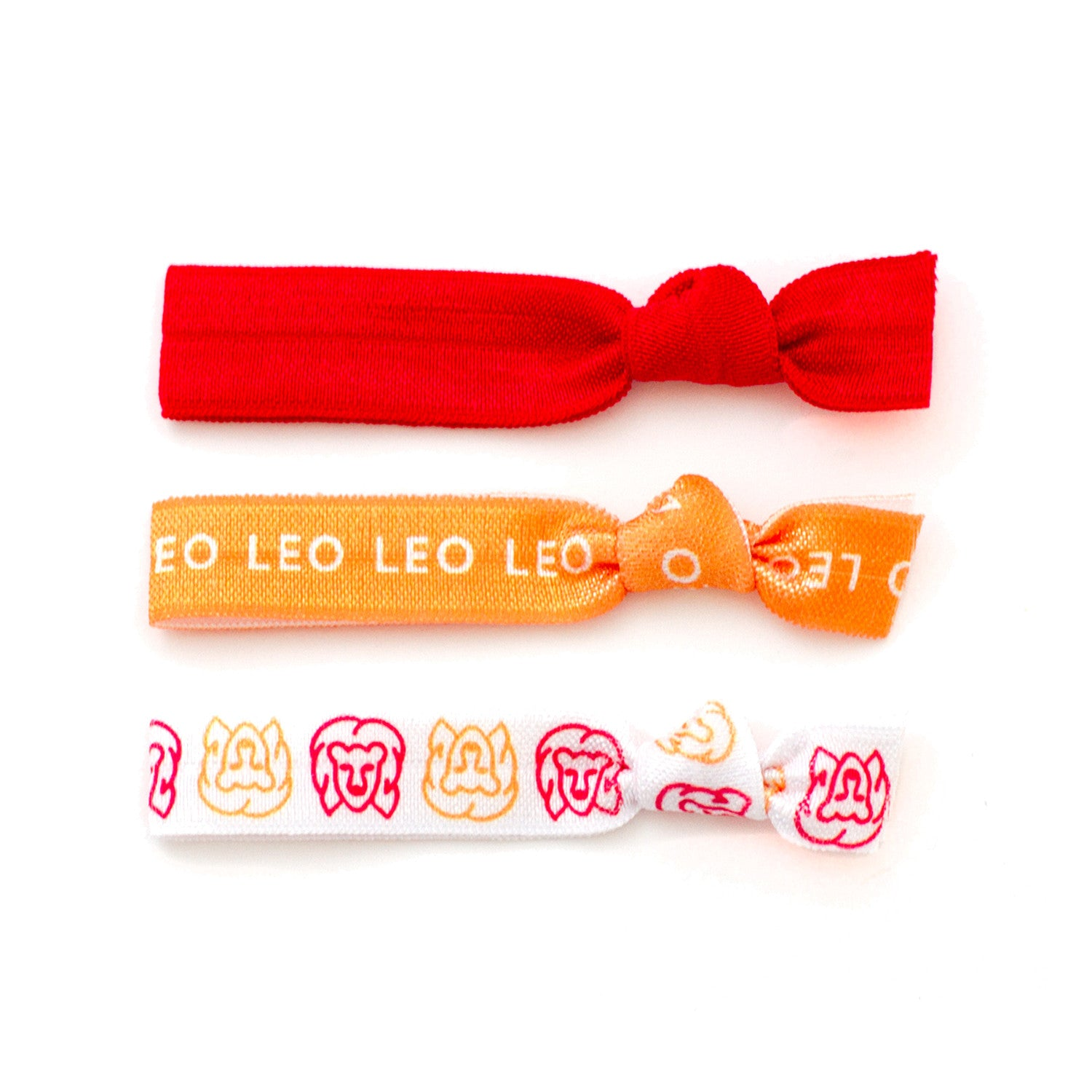 Leo Ponytail Holders Hair Ties