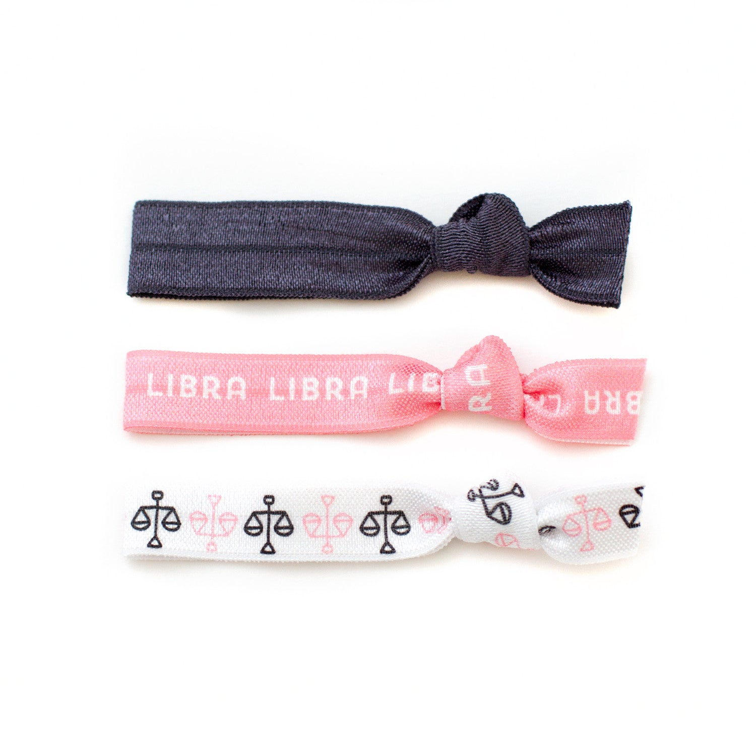 Libra Ponytail Holders Hair Ties
