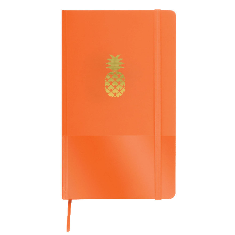gold foil pineapple journals