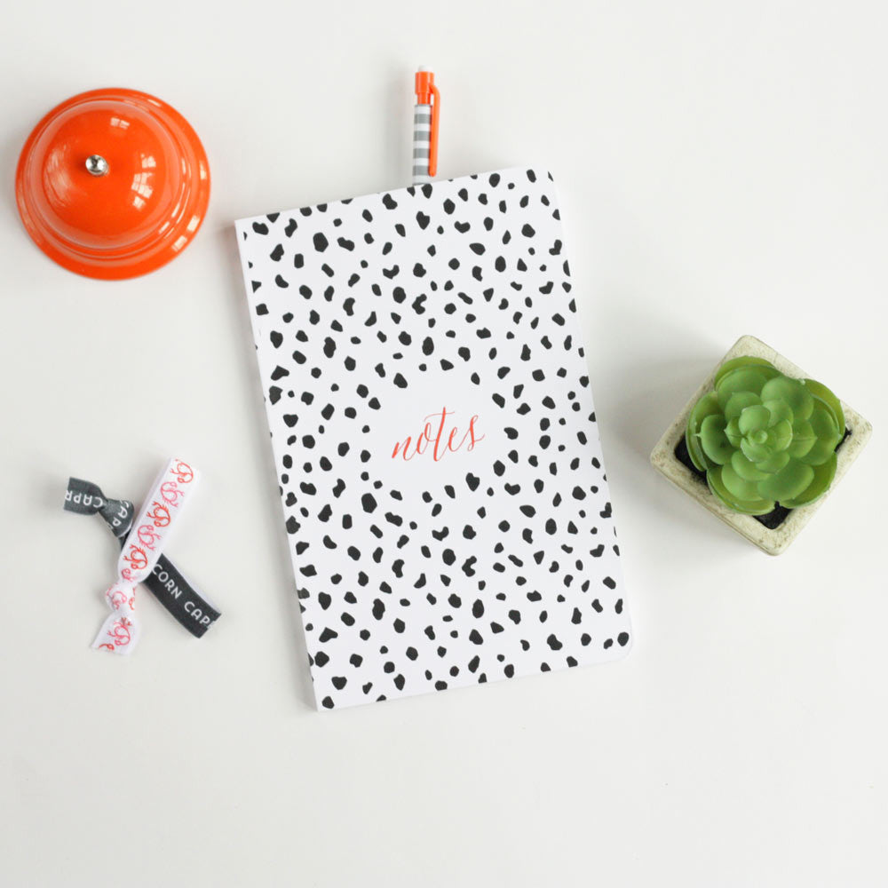 dalmatian spotted journal