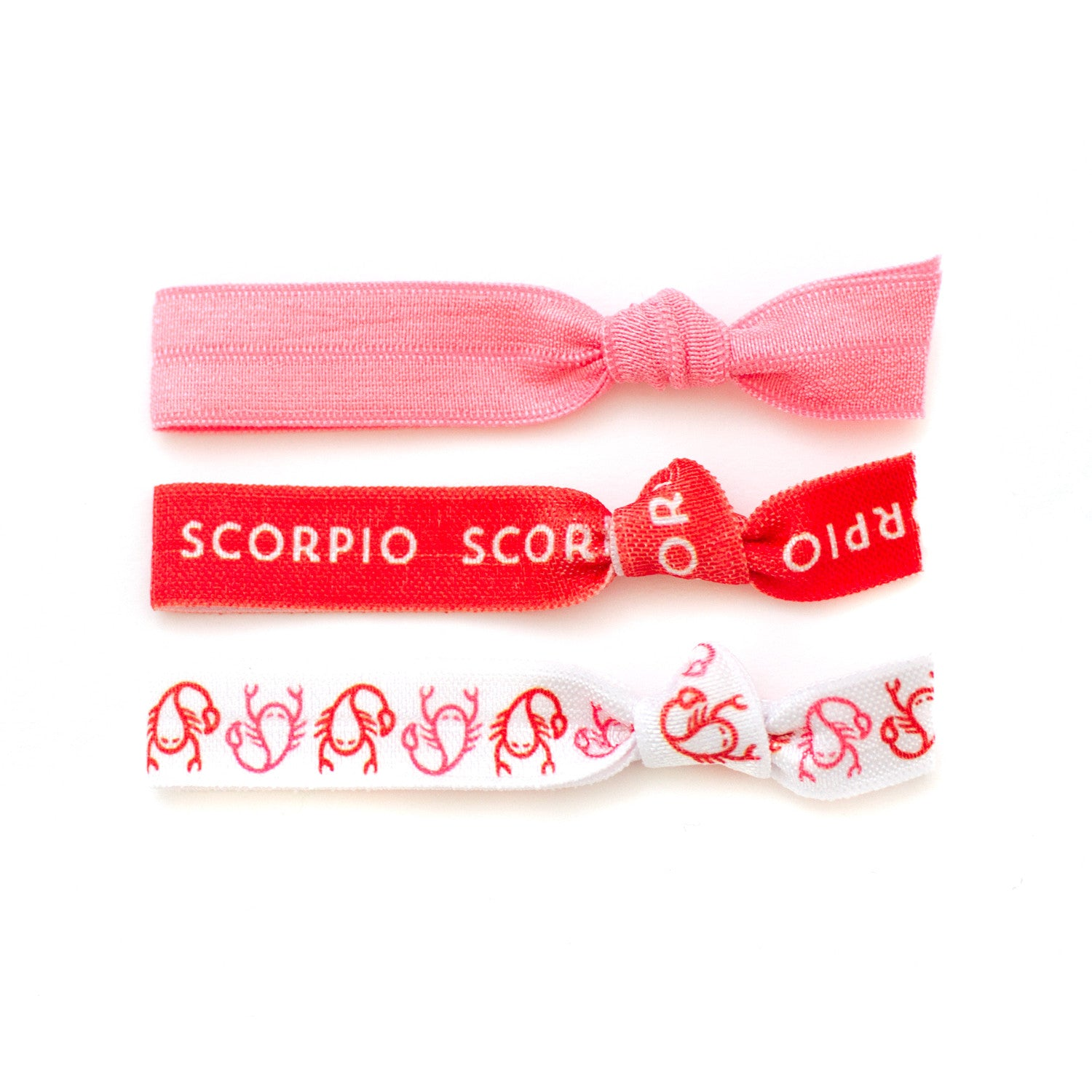 Scorpio Ponytail Holders