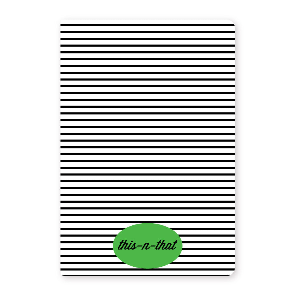 striped journals