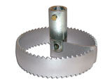 Concave Supreme Saw Blade with Hub