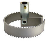 "4""-18"" Flat Supreme Saw Blade with Hub"