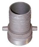 Water fill hose male coupling