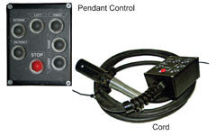 Pendant Control Box 7 Button Black