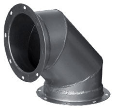 Steel Pipe Flange on Both Ends 90°