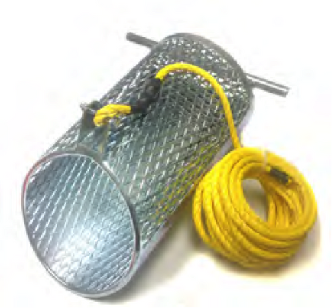 Debris Grit Basket With 25' Rope