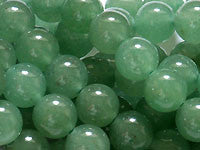 Green Aventurine Beads 6mm Round 15.5 inches
