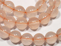 Rose Quartz Beads 8mm Round 16in