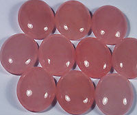 Rose Quartz Cabochons 18x13mm Oval 3pc
